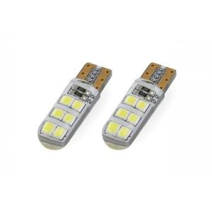 T10 ΛΑΜΠΑΚΙ STANDARD SILCA 12V - 1,5W - 5600K - 12LED (ΛΕΥΚΟ/ΨΥΧΡΟ) - 2 ΤΕΜ. Amio 01095/71824/AM