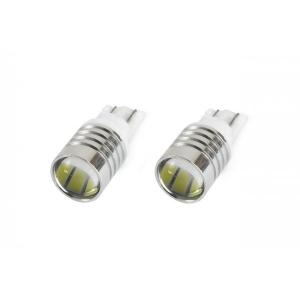 T10 W5W ΛΑΜΠΑΚΙ STANDARD 12V - 0,4W - 5600K - 3 LED (ΛΕΥΚΟ/ΨΥΧΡΟ) - 2 ΤΕΜ. Amio 01098/71827/AM